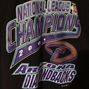 Arizona Diamondbacks Vintage 2001 Shirt Sz L